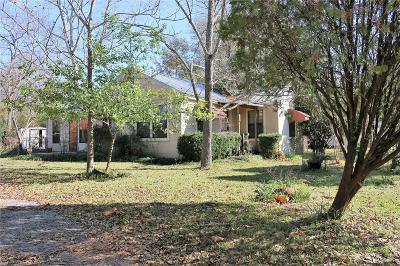 Madison County, Brazos County Single Family Home Pending: 210 N Woodrow Street