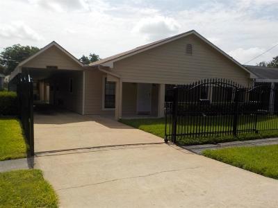 Houston Single Family Home For Sale: 1616 Tabor Street