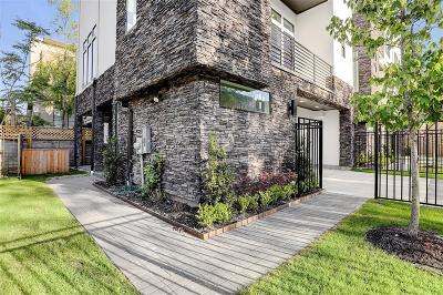 Houston Single Family Home For Sale: 608 Reinicke Street