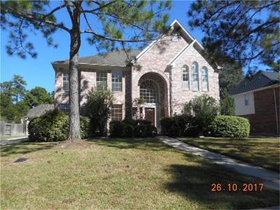 Tomball Single Family Home For Sale: 12522 Hammersmith Drive
