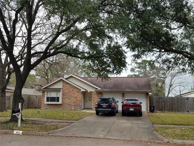 Houston Single Family Home For Sale: 343 Queenstown Road