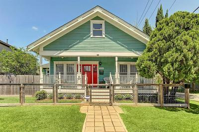 Houston Single Family Home For Sale: 1202 Dart Street