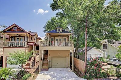Houston Single Family Home For Sale: 1328 Alexander Street