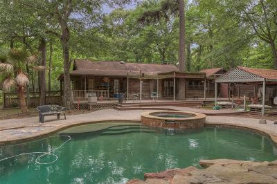 Conroe Single Family Home For Sale: 30 Creek Forest Lane