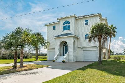 Galveston Single Family Home For Sale: 13927 Grambo Boulevard