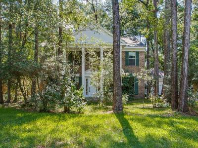 The Woodlands Single Family Home For Sale: 99 N Rushwing Circle