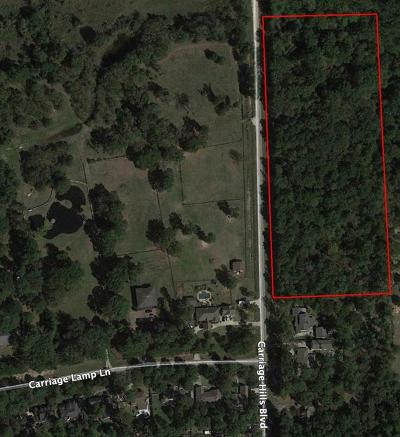 Conroe Residential Lots & Land For Sale: 2105 Carriage Hills Boulevard