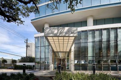 Houston Mid/High-Rise For Sale: 4521 San Felipe #2204
