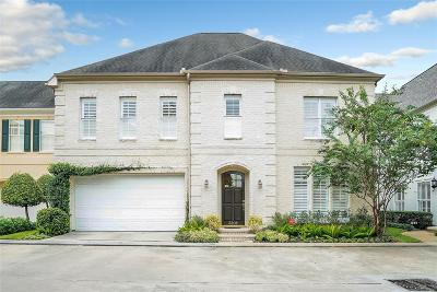 Houston Single Family Home For Sale: 3206 N Pemberton Circle Drive