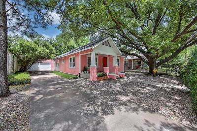 Houston Single Family Home For Sale: 4605 Michaux Street