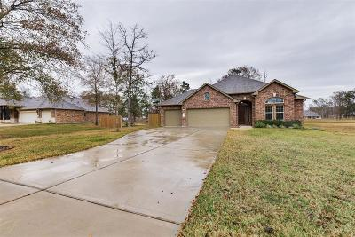 Conroe Single Family Home For Sale: 9255 Silver Back Trail