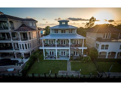 Kemah Single Family Home For Sale: 107 Bayou Lane