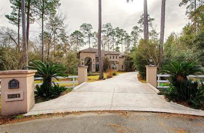 Conroe Single Family Home For Sale: 10308 Hunter Creek Lane