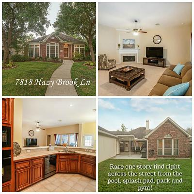 Single Family Home For Sale: 7818 Hazy Brook Lane