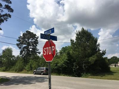 Tomball Residential Lots & Land For Sale: Foster St Street