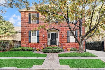Houston Single Family Home For Sale: 6711 Belmont Street