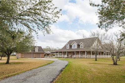 Manvel Single Family Home For Sale: 9114 Quail Ridge Drive