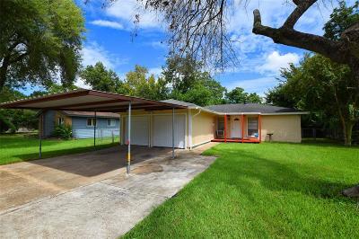 Pasadena Single Family Home For Sale: 809 Glenmore Drive