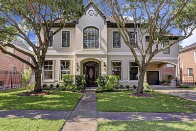 Houston TX Single Family Home For Sale: $1,450,000