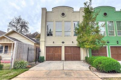 Houston Condo/Townhouse For Sale: 1405 Asbury Street