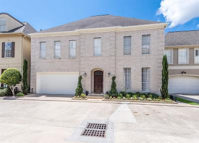 Houston Single Family Home For Sale: 3227 S Pemberton Circle Drive