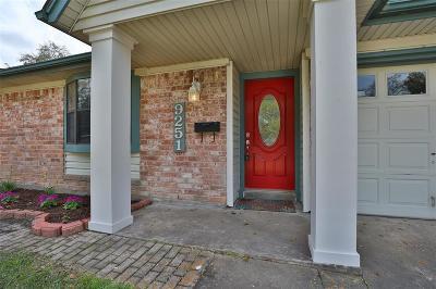 Houston Single Family Home For Sale: 9251 McDade Street