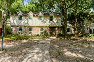 Houston Single Family Home For Sale: 706 Bison Drive