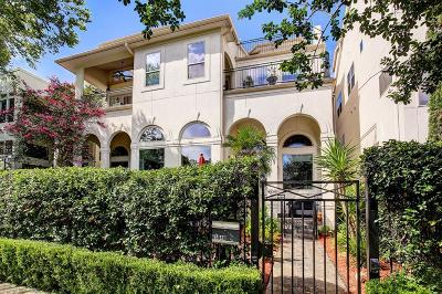 Houston Condo/Townhouse For Sale: 6304 Haskell Street #B