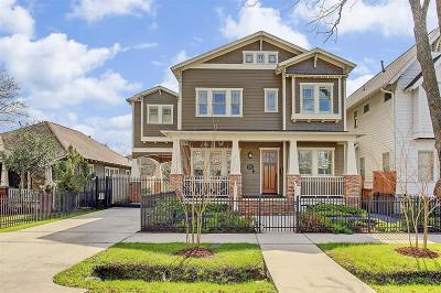 Houston Single Family Home For Sale: 604 E 21st Street