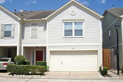 Houston Single Family Home For Sale: 2631 Woodridge Manor Drive
