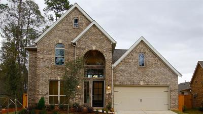 Conroe Single Family Home For Sale: 211 Painted Trillium Drive
