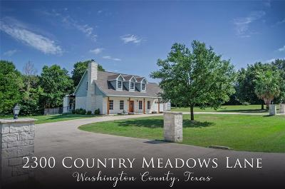 Washington County Single Family Home For Sale: 2300 Country Meadows Lane