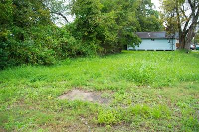 Harris County Residential Lots & Land For Sale: 3217 Tuam Street