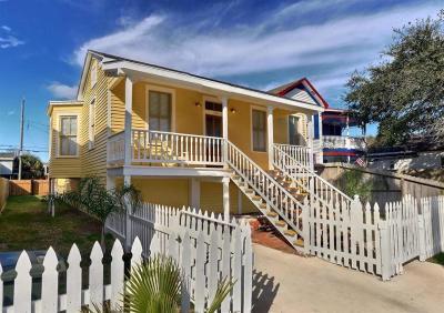 Galveston Single Family Home For Sale: 1724 Avenue N