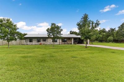 Navasota Single Family Home Pending: 5783 Fm 2988 Road