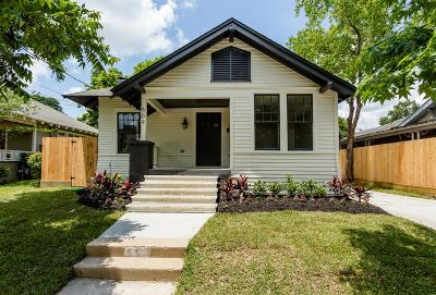 Houston Single Family Home For Sale: 609 Byrne Street