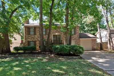 Kingwood Single Family Home For Sale: 3210 Sycamore Springs Drive