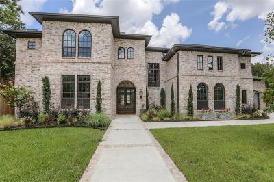 Houston TX Single Family Home For Sale: $1,679,000