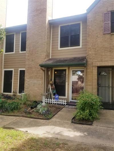 Houston TX Condo/Townhouse For Sale: $134,900