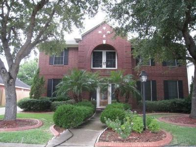 Pearland Single Family Home For Sale: 2810 White Oak Lane