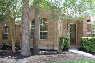 The Woodlands TX Single Family Home For Sale: $305,000