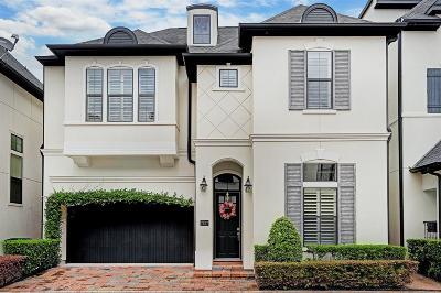Houston Single Family Home For Sale: 7827 Bobbitt Lane