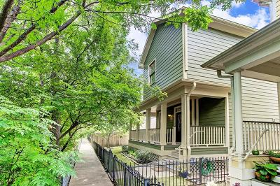 Houston Single Family Home For Sale: 1002 W 16th Street #A