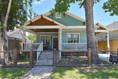 Houston Single Family Home For Sale: 1208 Tabor