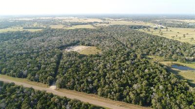Fayette County Farm & Ranch For Sale: Carmine Cemetery Road
