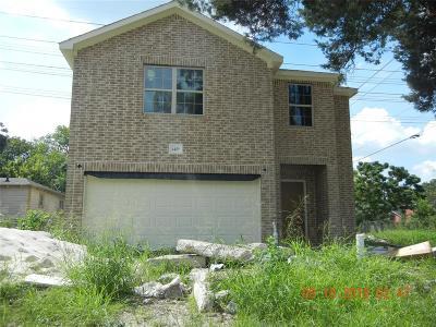 Houston Single Family Home For Sale: 4409 Elysian Street