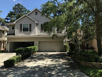 The Woodlands Condo/Townhouse For Sale: 221 E Summerhaze Circle