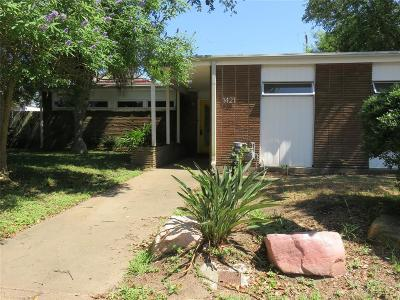 Single Family Home For Sale: 1421 Harbor View Drive