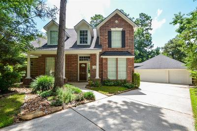 The Woodlands Single Family Home For Sale: 38 Agate Stream Place