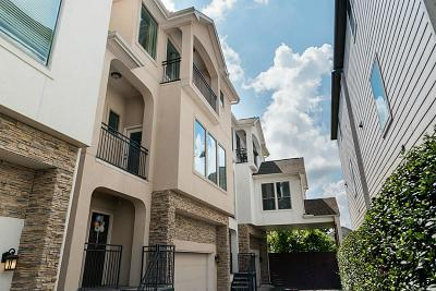 Houston Single Family Home For Sale: 1538 W 23rd Street #A